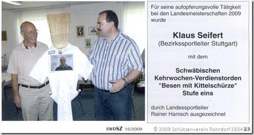 2009 Klaus Seifert - Besen mit Kittelschürze Stufe eins