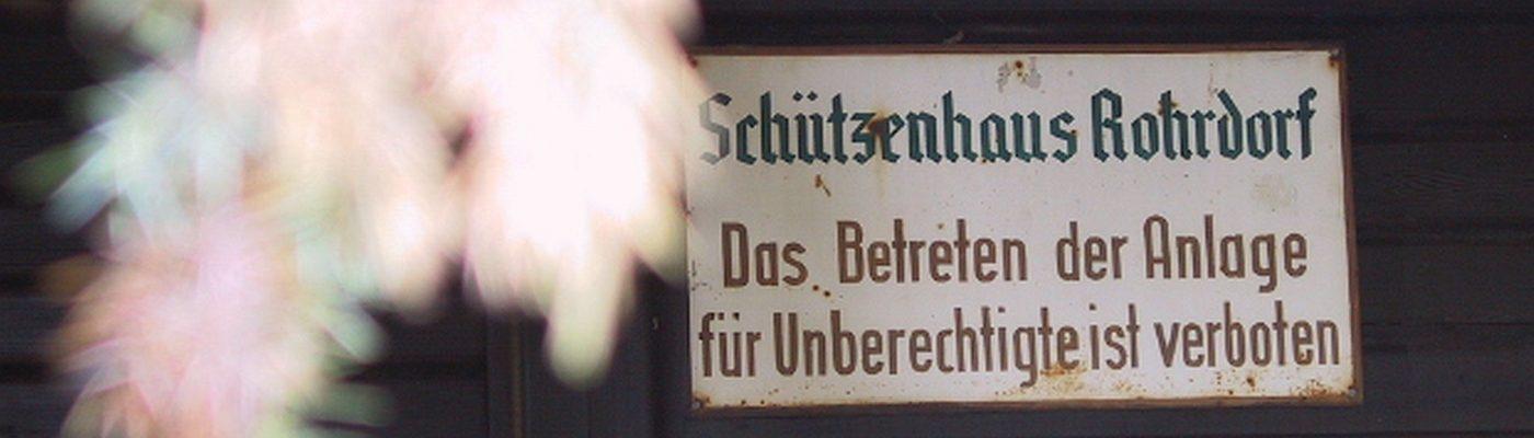 Schützenverein Rohrdorf  e.V.